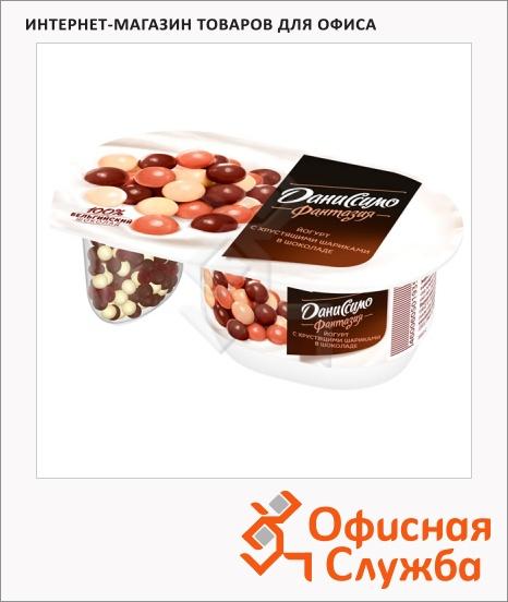 фото: Йогурт Даниссимо Фантазия хрустящие шарики 6.9%, 105г
