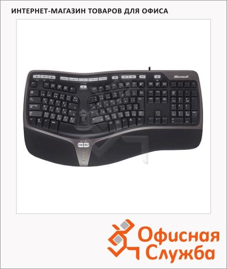 фото: Клавиатура проводная USB Microsoft Natural Ergo Keyboard 4000 черная