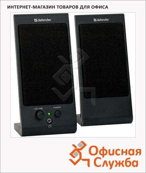 фото: Колонки компьютерные Defender SPK-165/170 2х2Вт, черные, 2.0