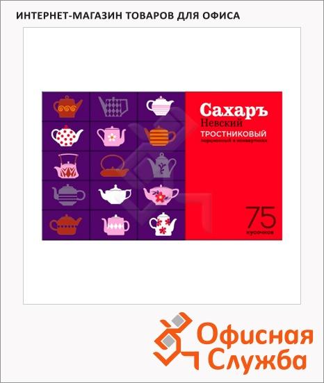 фото: Сахар Невский Тросниковый порционный кусковой, 75 х 5.6г