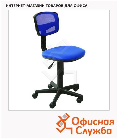 фото: Кресло офисное Бюрократ CH-299NX ткань крестовина пластик, синяя, темная