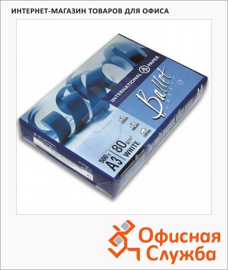 фото: Бумага для принтера Ballet Classic А3 500 листов, 80г/м2, белизна 153%CIE