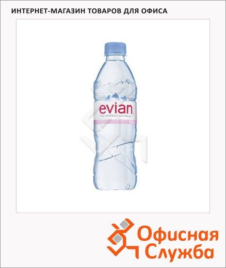 Вода минеральная Evian Спорт без газа, ПЭТ, 0.5л