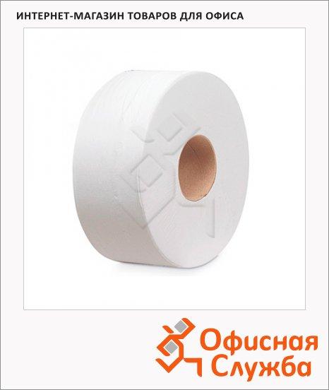 фото: Туалетная бумага Kimberly-Clark Kleenex Midi Jumbo 8515 в рулоне, 250м, 2 слоя, белая