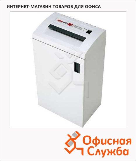 Офисный шредер Hsm 108.2-3.9, 18 листов, 48 литров, 2 уровень секретности