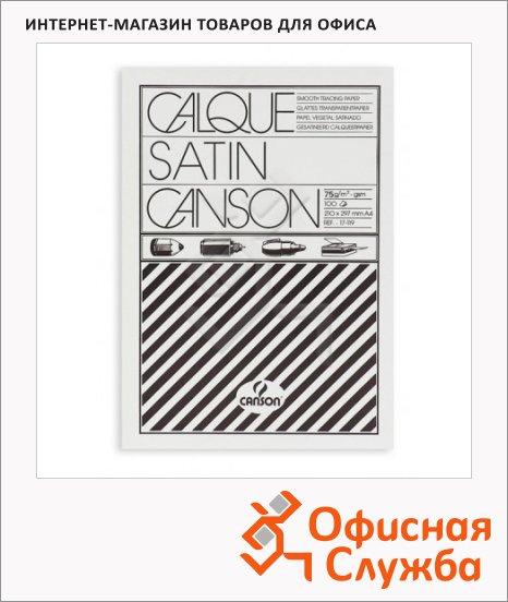 Калька Canson А4, 100 листов, 90г/м2