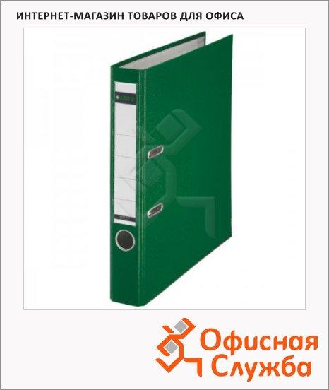 Папка-регистратор А4 Leitz зеленая, 50 мм, 10151255