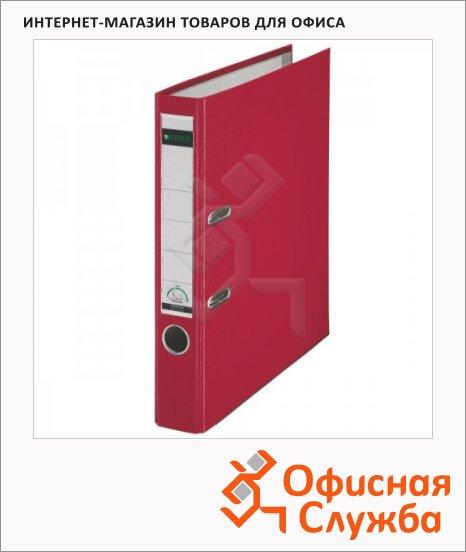 Папка-регистратор А4 Leitz красная, 50 мм, 10151225