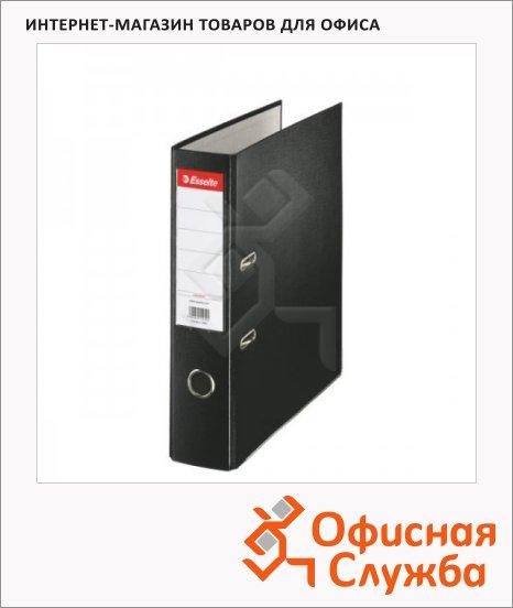 фото: Папка-регистратор А4 Esselte Economy черная 75 мм, 11257