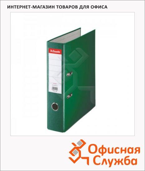 фото: Папка-регистратор А4 Esselte Economy зеленая 75 мм, 11256