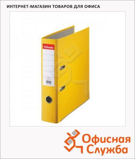 Папка-регистратор А4 Esselte Economy желтая, 75 мм, 10782