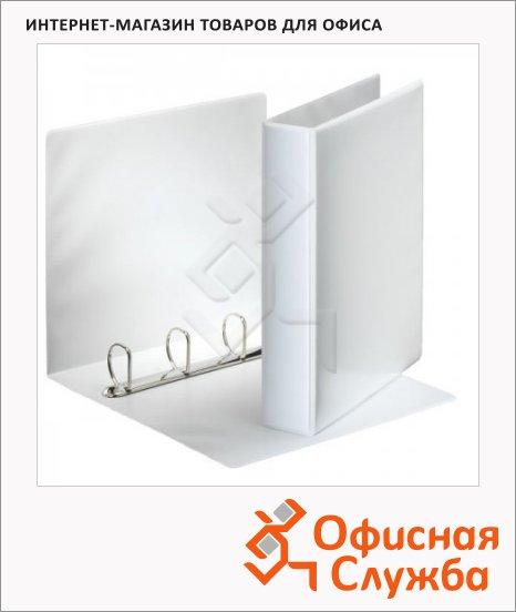 Папка-панорама на 4-х кольцах А4 Esselte белая, 65 мм, 49704