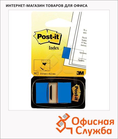 фото: Клейкие закладки бумажные Index синий