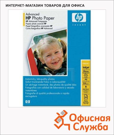 фото: Фотобумага для струйных принтеров Hp Photo А4 25 листов, 250г/м2, глянцевая