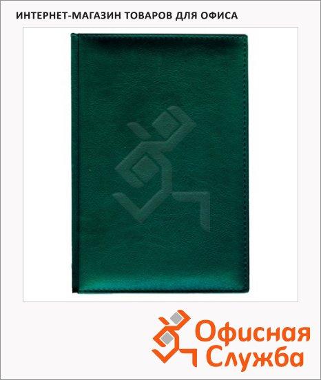 Ежедневник недатированный Attache Lider зеленый, А5, 136л