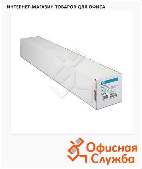 Бумага широкоформатная Hp Coated Paper 610мм х 45 м, 95г/м2, белизна 150%CIE, Q1404B