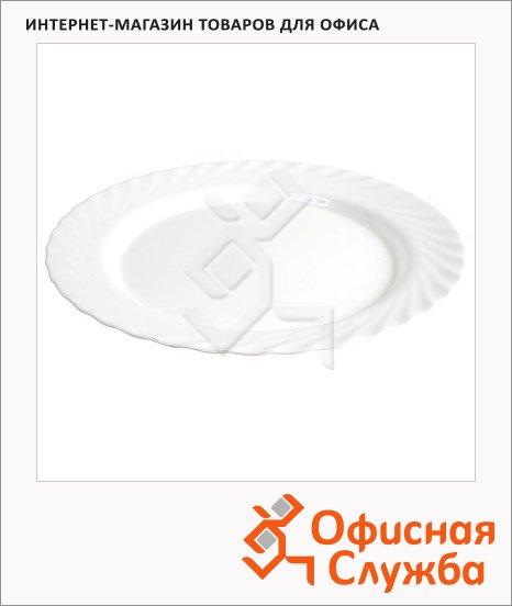 фото: Тарелка десертная Luminarc Trianon белая d=15.5см