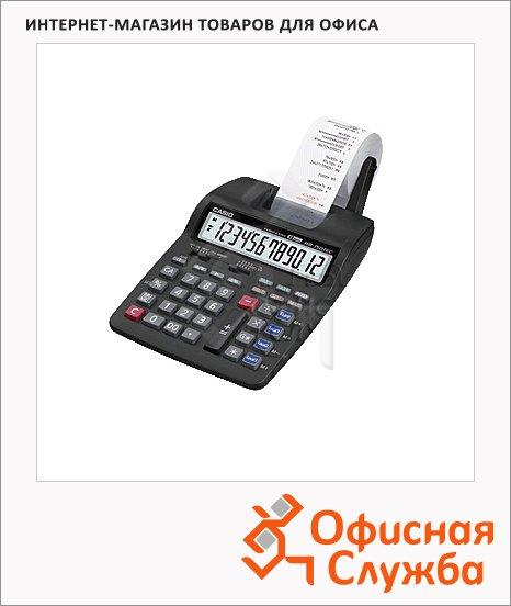 Калькулятор с печатающим устройством Casio HR-150TEC одноцветная печать, 12 разрядов