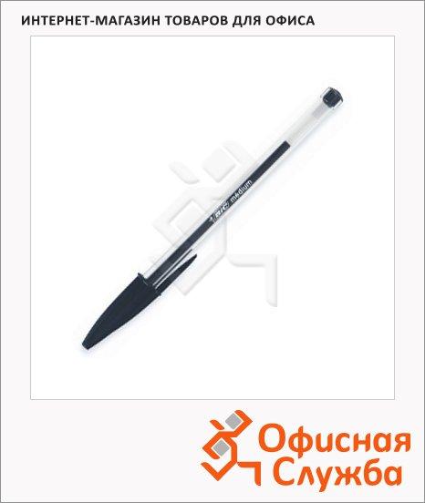 фото: Ручка шариковая Bic Cristal черная 0.4мм