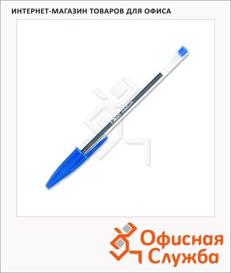 Ручка шариковая Bic Cristal синяя, 0.4мм