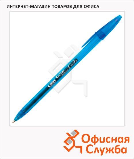 Ручка гелевая Bic Cristal Gel синяя, 0.3мм