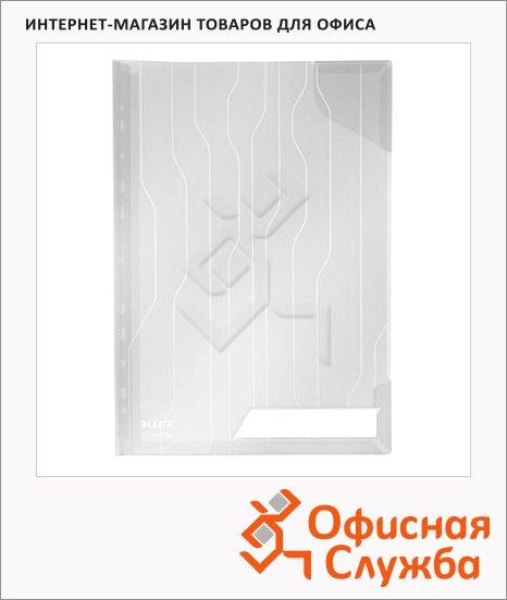 фото: Папка-уголок Leitz CombiFile Premium прозрачная A4, 200мкм, 3 шт/уп, 47280003