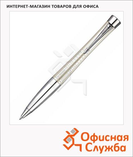Ручка шариковая Parker Urban Premium М, синяя, перламутровый корпус