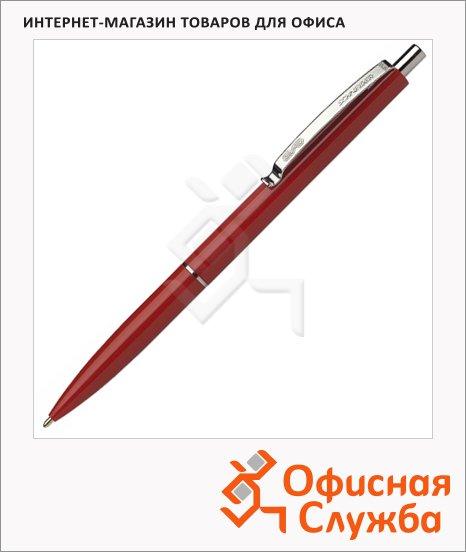 фото: Ручка шариковая автоматическая Schneider K15 синяя 0.5мм, красный корпус