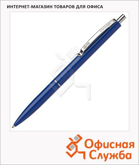 фото: Ручка шариковая автоматическая Schneider K15 синяя 0.5мм, синий корпус