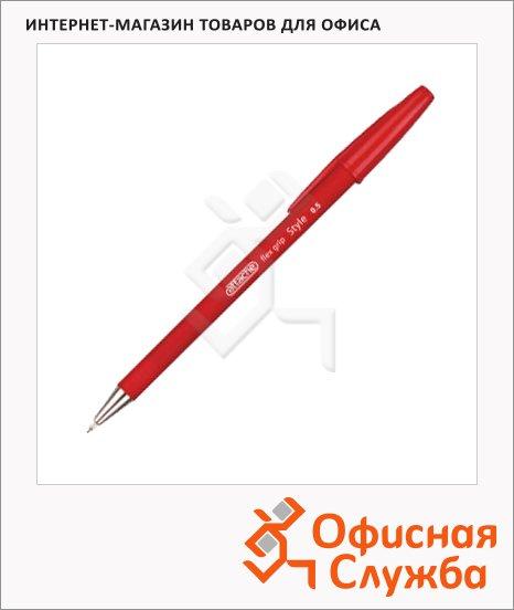 фото: Ручка шариковая Style 0.5мм, красная