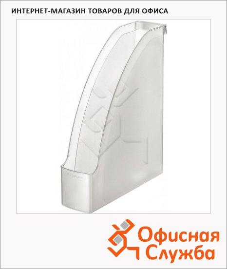 фото: Накопитель вертикальный для бумаг Leitz Plus А4 78мм, прозрачный, 24760003