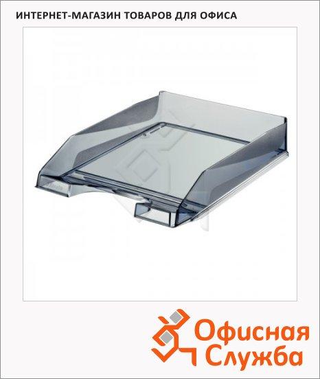 Лоток горизонтальный для бумаг Esselte Europost A4, дымчатый, 66036/12666