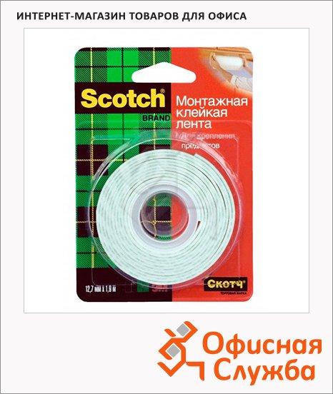 ������� ����� ��������� Scotch Mounting Tape 12.7�� �1.9�, ������������