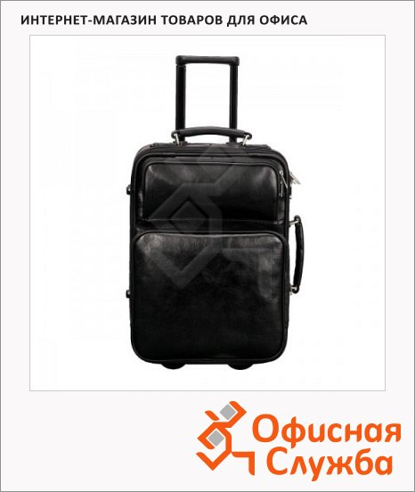 Сумка-чемодан Esselte Франкфурт 520х350х260мм, черный