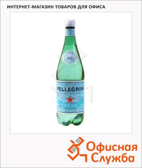 Вода минеральная Sanpellegrino газ, ПЭТ, 1 л