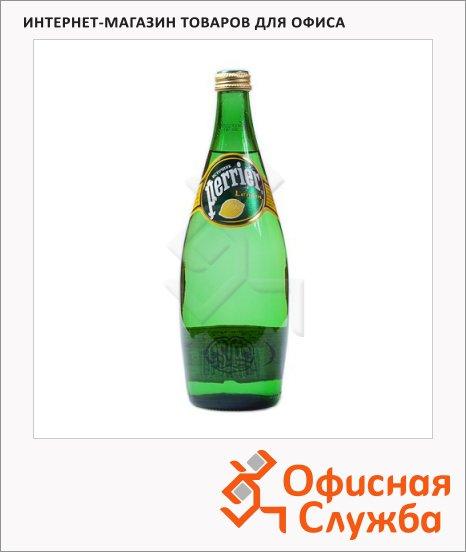 фото: Вода минеральная Perrier газ лимон, 750мл, стекло