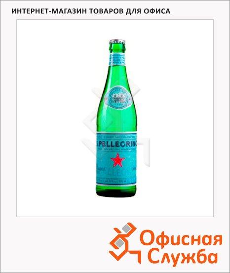 Вода минеральная Sanpellegrino газ, стекло, 0.5л