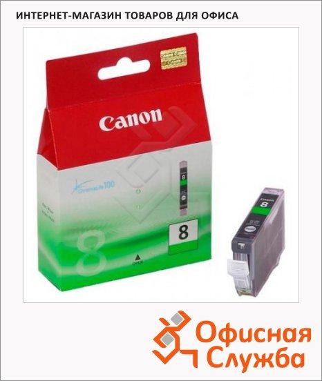 фото: Картридж струйный Canon CLI-8G зеленый