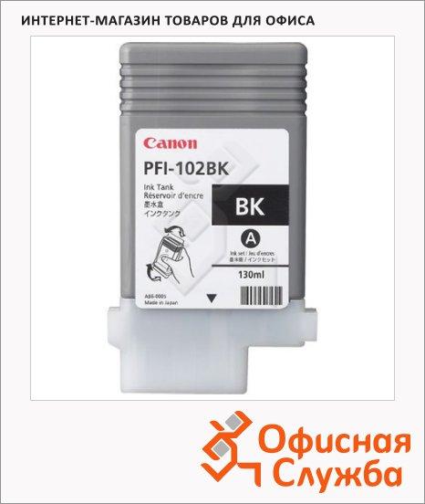фото: Картридж струйный Canon PFI-102BK черный