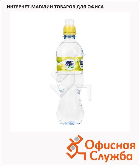 Вода питьевая Bon Aqua Viva без газа, 0.5л, ПЭТ, лимон