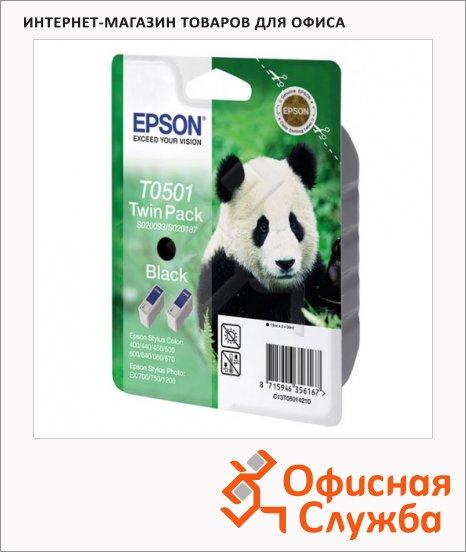 фото: Картридж струйный Epson C13 T050141 черный