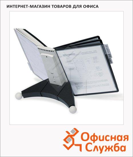 Демосистема настольная Durable Sherpa 10 панелей, А4, ассорти, 5632-00