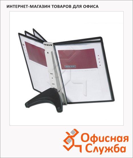 Демосистема настольная Durable Sherpa Soho 5 панелей, А4, черный, 5540-01