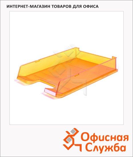 фото: Лоток горизонтальный для бумаг 1020 оранжевый