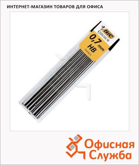 Грифели для механических карандашей Bic Leads HB, 12шт, 0.7мм