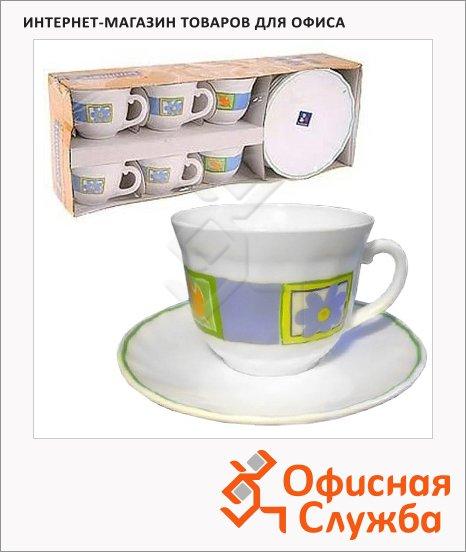 фото: Набор кофейный Luminarc Florine 90мл 6 персон