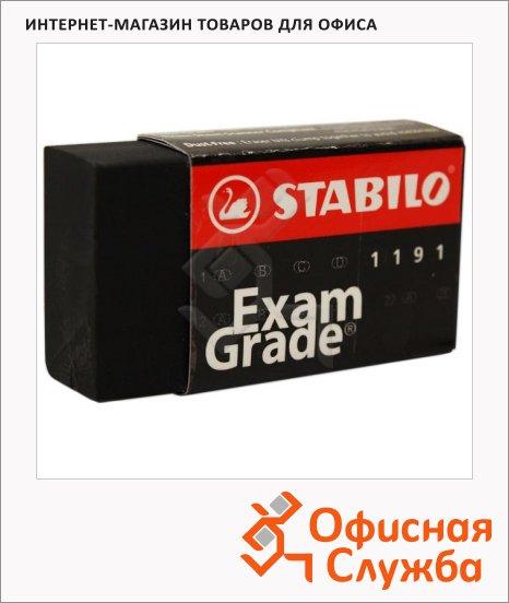 Ластик Stabilo Exam Grade 40х22х11мм, черный