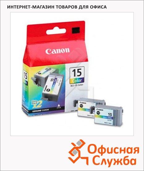фото: Картридж струйный Canon BCI-15С 2шт/уп, цветной