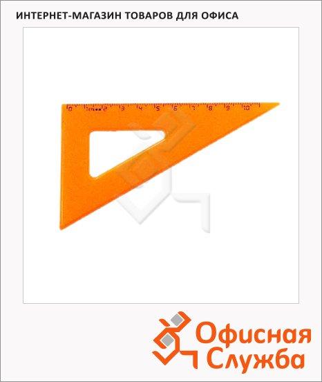 Угольник Стамм ТК-47 10см, 30°/60°, оранжевый