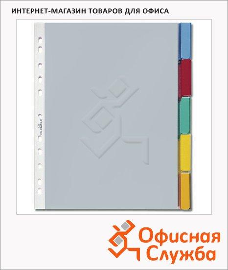 Цветовой разделитель листов Durable 5 разделов, А4, 6630-19